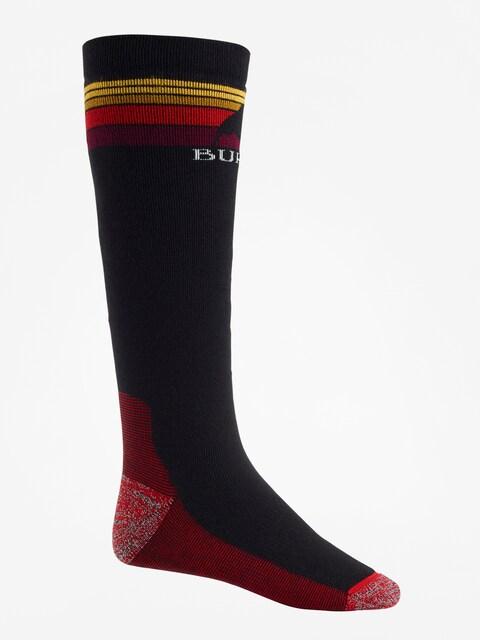 Ponožky Burton Emblem Midweight (true black)