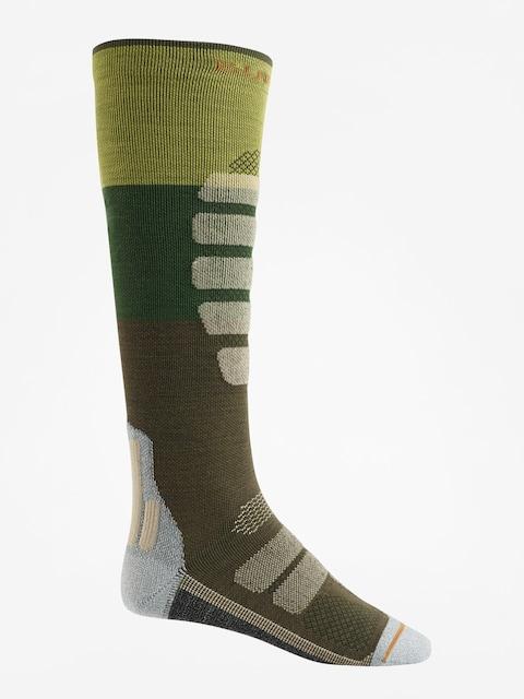 Ponožky Burton Performance + Lightweight (mosstone block)