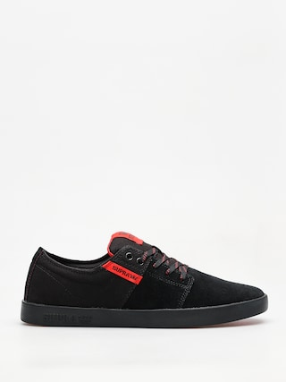 Boty Supra Stacks II (black/risk red black)