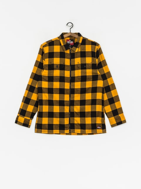 Košile Vans X Independent Zip Flannel (sunflower)