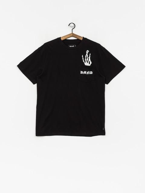 Tričko Diamond Supply Co. Hand Signs Pocket (black)