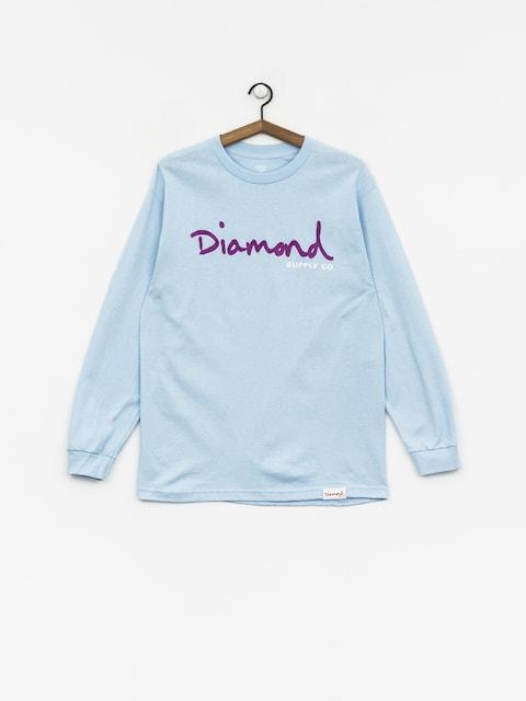 Triko Diamond Supply Co. Og Script (powder blue)