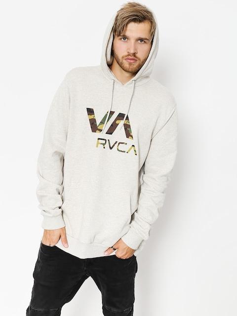 Mikina s kapucí RVCA Va Rvca HD (snow marle)