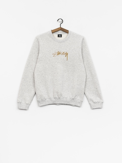 Mikina Stussy Smooth Stock Wmn (ash heather)