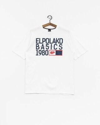 Tričko El Polako Ep Basic (white)