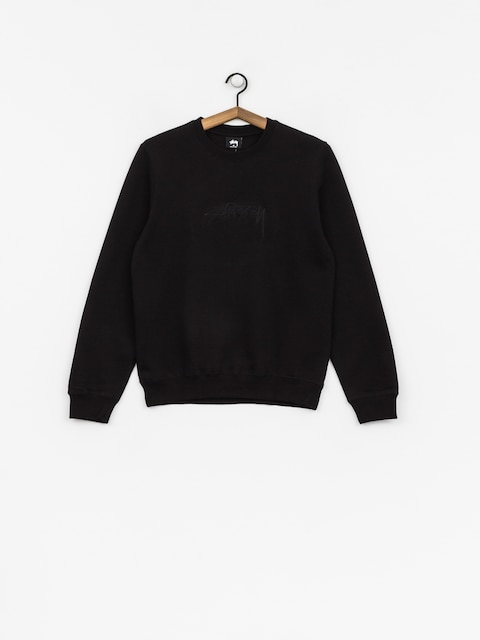Mikina Stussy Smooth Stock Wmn (black)
