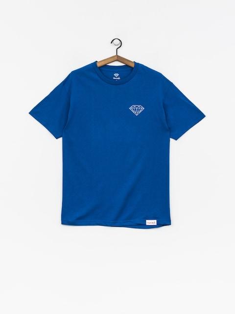 Tričko Diamond Supply Co. Clockwork (royal blue)
