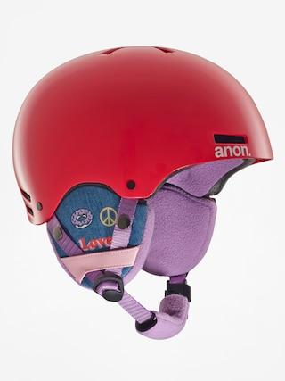 Dětská helma Anon Rime (girl power red)