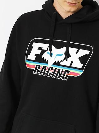Mikina s kapucí Fox Throwback HD (blk)