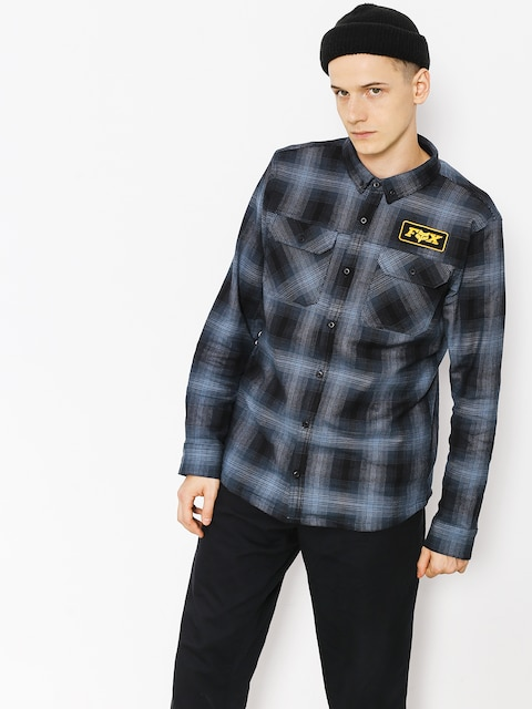 Košile Fox Gorman Overshirt 2 0 (nvy)