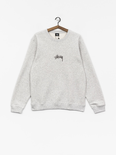 Mikina Stussy Stock App (grey heather)