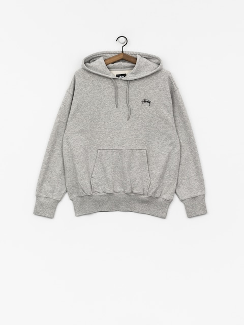 Mikina s kapucí Stussy Kira HD Wmn (grey heather)