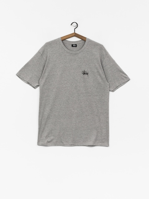 Tričko Stussy Basic (grey heather)