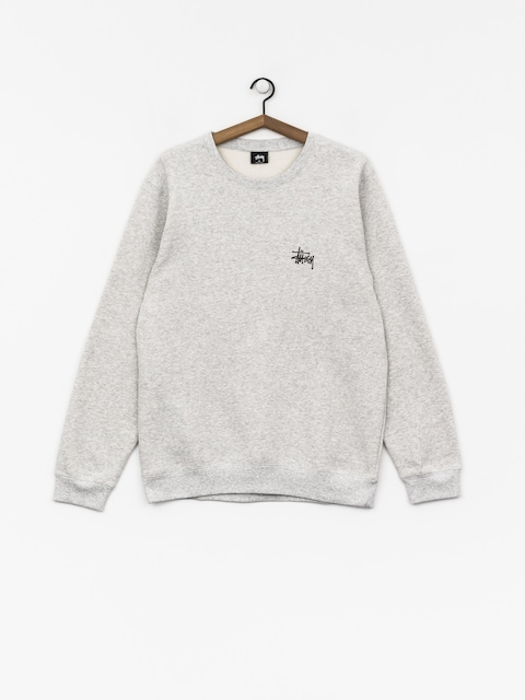 Mikina Stussy Basic (ash heather)