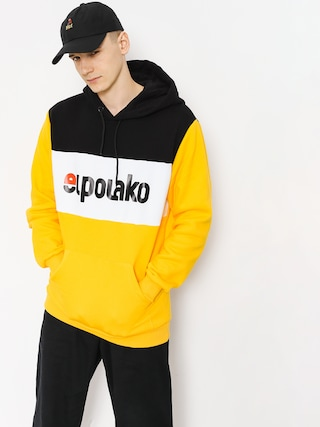 Mikina s kapucí El Polako Elpo New HD (yellow)
