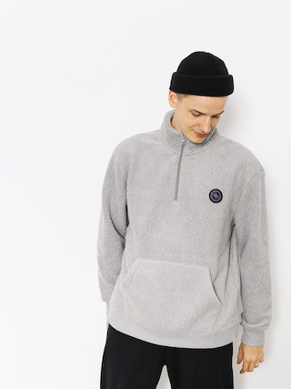 Mikina Quiksilver Glong (light grey heather)