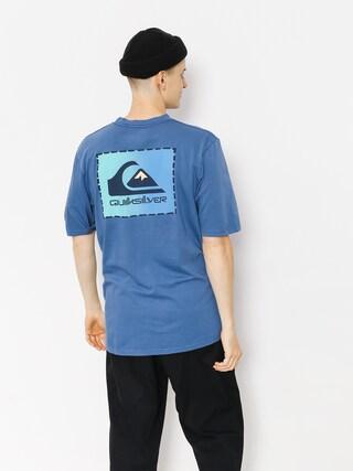 Tričko Quiksilver Original Clapatc (bijou blue)