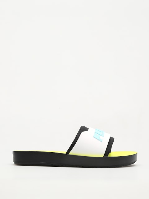 Plážovky Puma Fenty Surf Slide Wmn (puma black/white/yellow)