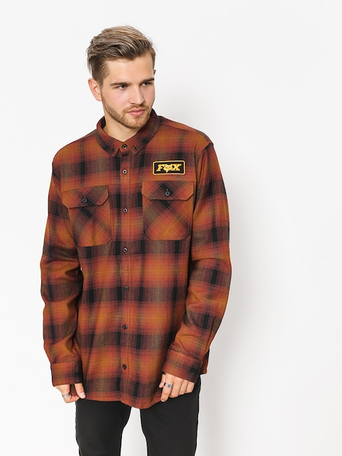 Košile Fox Gorman Overshirt 2 0 (brx)