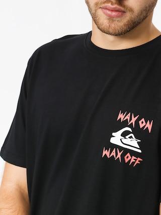 Tričko Quiksilver Wax Jobss (black)