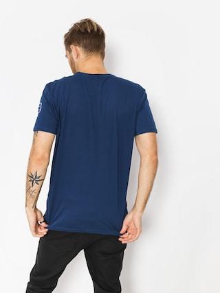 Tričko Quiksilver Solid Left (medieval blue)