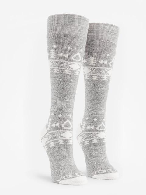 Ponožky Volcom Tundra Tech Wmn (hgr)