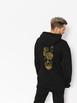 Mikina s kapucí Primitive Reborn HD (black)