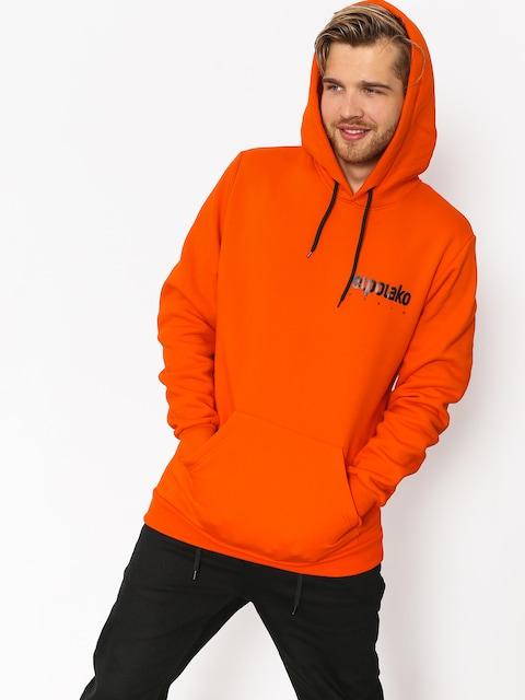 Mikina s kapucí El Polako Little Classic HD (orange)