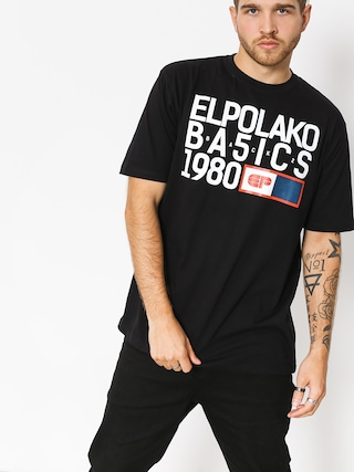 Tričko El Polako Ep Basic (black)