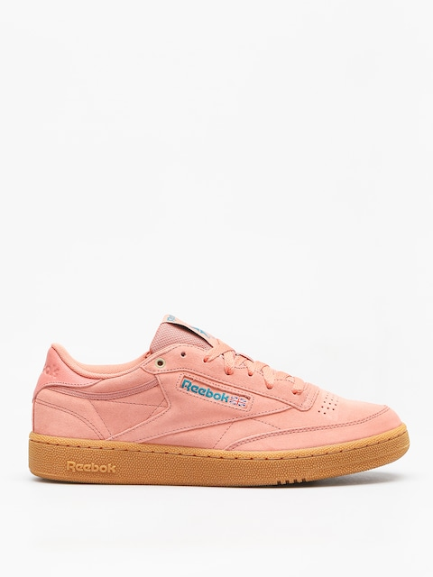 Boty Reebok Club C 85 Mu (mc dirty apricot/teal/gum)