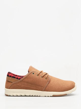 Boty Etnies Scout (brown/tan/brown)