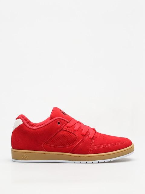 Boty Es Accel Slim (red/gum)