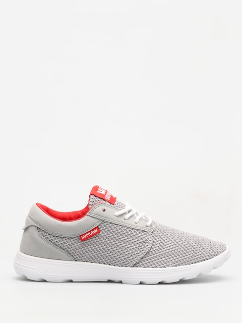 Boty Supra Hammer Run (lt grey/risk red white)