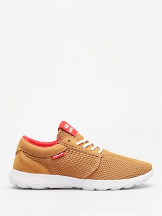 Boty Supra Hammer Run (tan/risk red white)