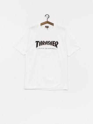 Tričko Independent x Thrasher Ttg (white)