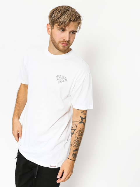 Tričko Diamond Supply Co. Brilliant (white)