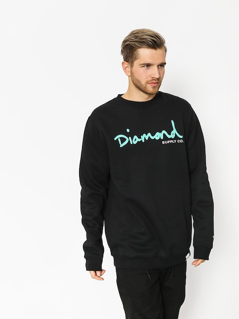 Mikina Diamond Supply Co. Og Script (black)