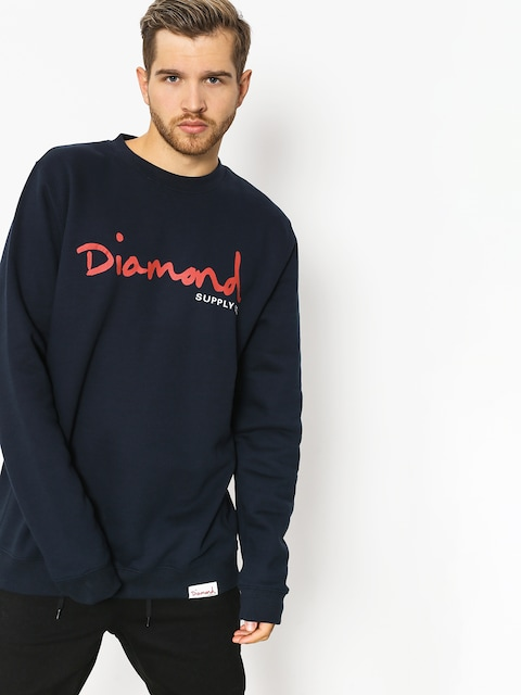 Mikina Diamond Supply Co. Og Script (navy)