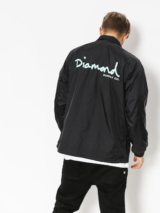 Bunda Diamond Supply Co. Og Script Coach (black)