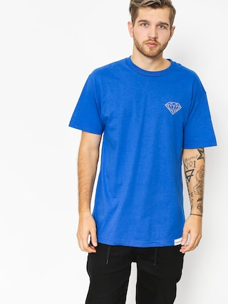 Tričko Diamond Supply Co. Clockwork (royal blue)
