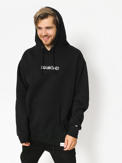 Mikina s kapucí Diamond Supply Co. Shift Skate HD (black)