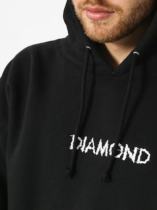 Mikina s kapucí Diamond Supply Co. Shift Skate HD (black)
