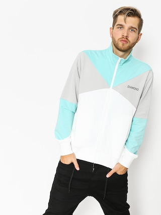 Mikina Diamond Supply Co. Cherry Park Warm Up (white)