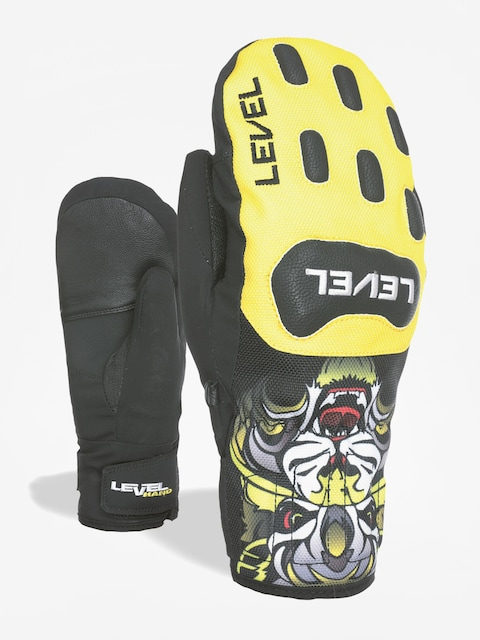 Rukavice Level Race Jr Mitt (yellow)