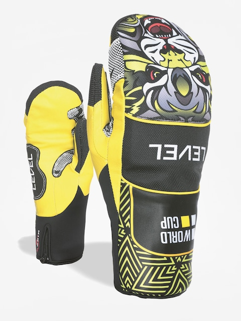 Rukavice Level Race Speed Mitt (yellow)