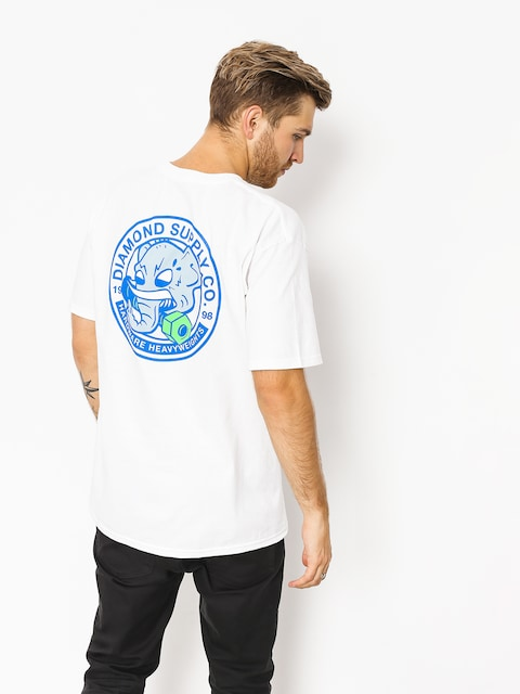 Tričko Diamond Supply Co. Stampede (white)