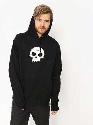 Mikina s kapucí Zero Single Skull HD (black)