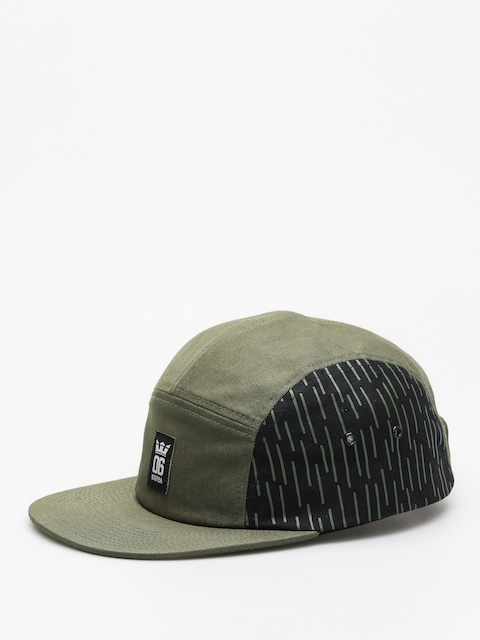 Kšiltovka  Supra Og Crown ZD (olive/black/white)