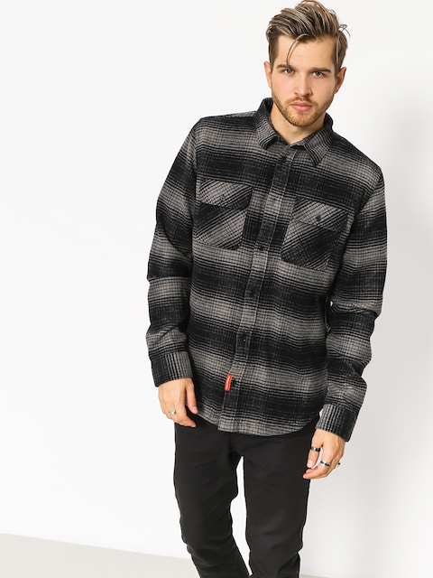 Košile DC Ombre Flannel (charcoal heather)
