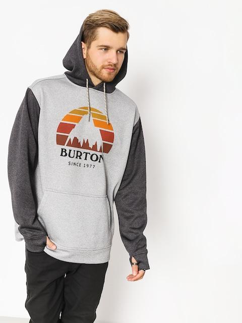 Mikina s kapucí Burton Oak HD (htrmnt/htrtbl)
